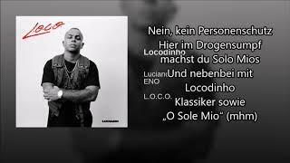 Luciano - Locodinho feat ENO (Lyrics Video)