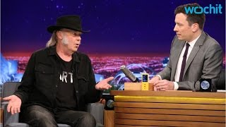 Neil Young and Jimmy Fallon's 'Neil Young' Perform 'Old Man' Together