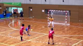 H26年 第23回JOCハンドボール大会岡山VS熊本(ダイジェスト)(女子予選リーグ)