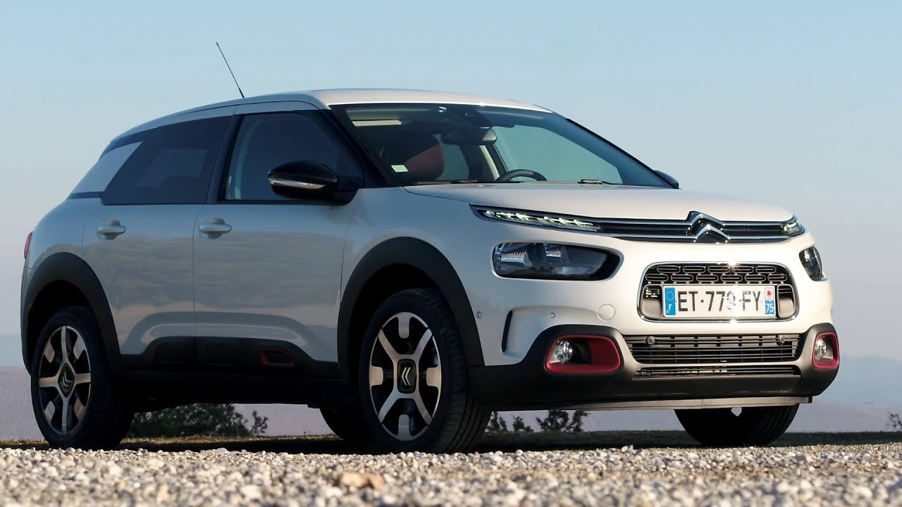 2018 citroen c4 cactus driving interior exterior pearl white youtube. Black Bedroom Furniture Sets. Home Design Ideas