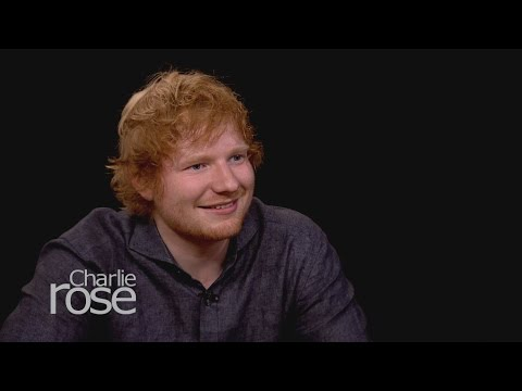 Ed Sheeran on Charlie Rose - The Full Interview  (Oct. 2, 20