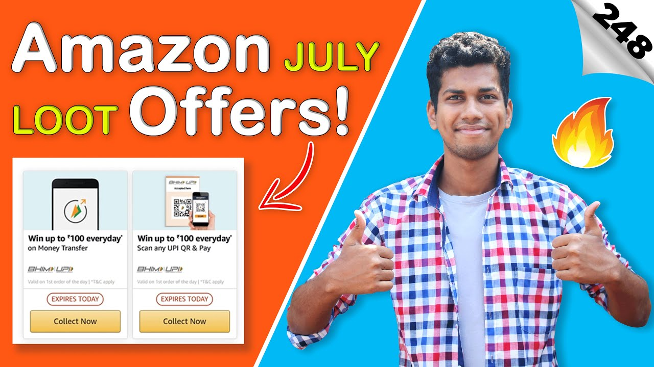 ⚡⚡ Amazon Add Money, Send Money, Jio, Airtel Vodafone Recahrge, DTH, Electricity Bill Payment Offers