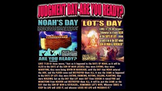 Noah, Lot, Peace And Safety