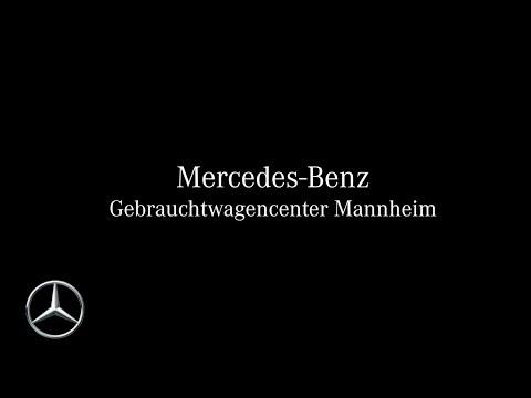 Das Mercedes-Benz Gebrauchtwagencenter Mannheim - Junge Sterne