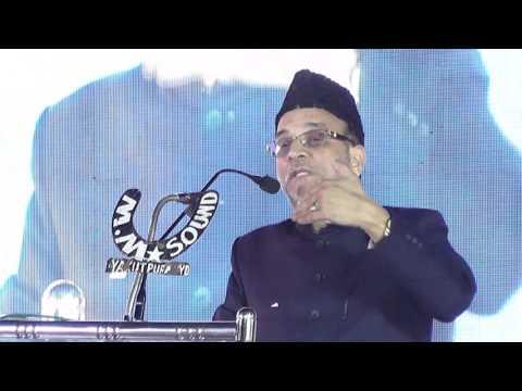 Zakir-e-Ahle Baith Dr Shoukat Ali Mirza addressing 25th Jalse Milad Un Nabi of MBT