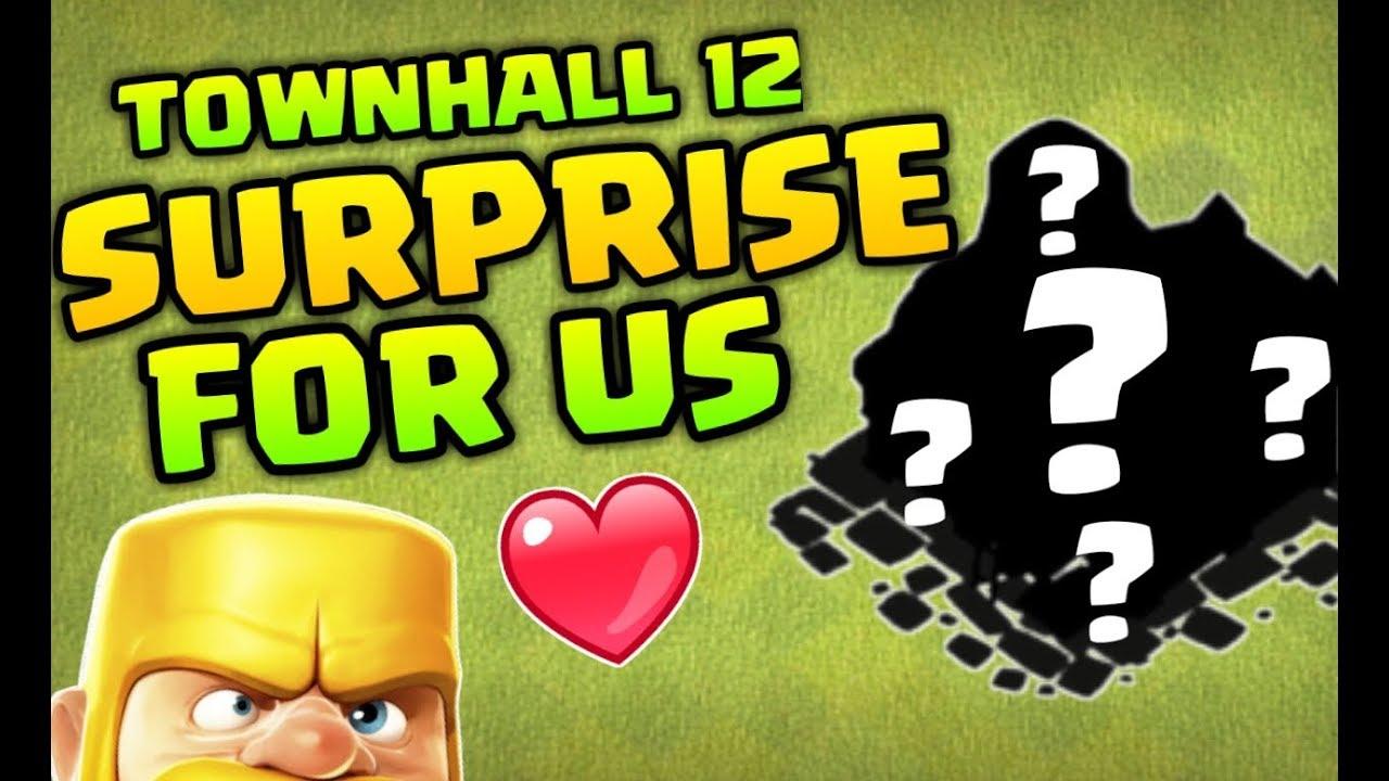 Townhall 12  Surprise For Us !? Seige Machine Biggest Update !!!