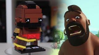 HOG RIDER LEGO Clash of Clans [Brickheadz MOC instruction]
