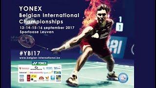 Labar / Fontaine vs Evans / Hogstrom (XD, SF) - Belgian International 2017