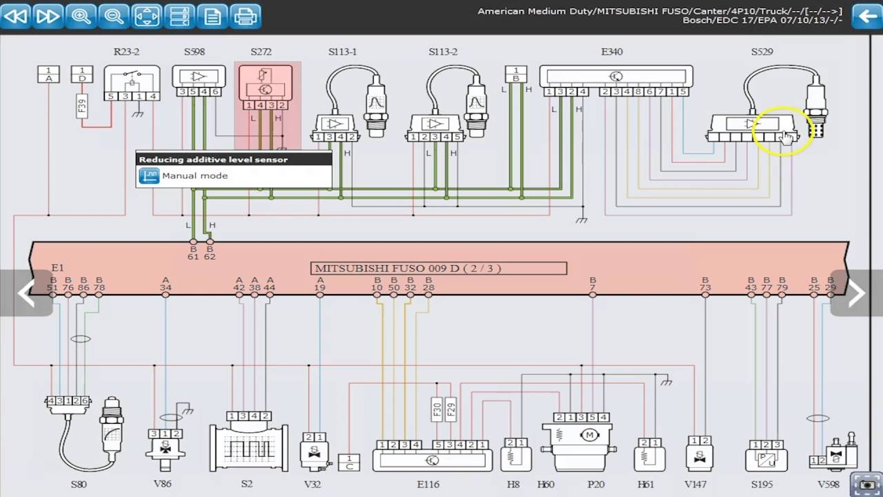 texa truck diagnostic tool on 2013 misubishi fuso 4p10 duonic transmission [ 1280 x 720 Pixel ]