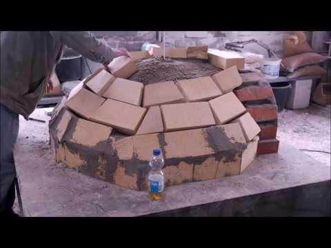 Holzofen selber bauen, Pizzaofen selber bauen Flammkuchenofen selber bauen