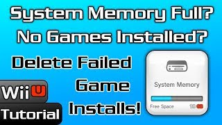 Are Failed Game Installs Taking up WiiU Internal Storage? - How to Delete w/ FtpiiU Everywhere