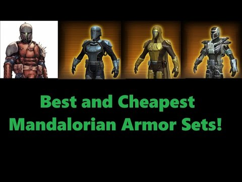SWTOR: Top 8 Mandalorian Armor Sets!