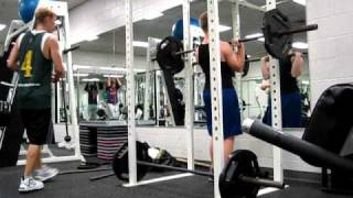Push Press 135 (less leg drive)