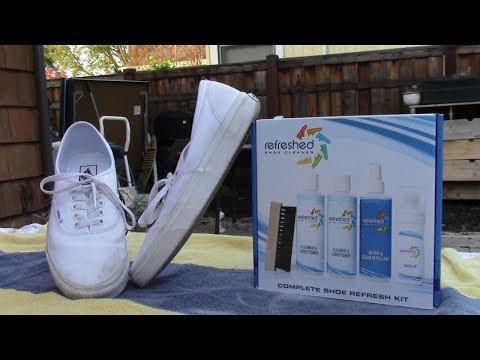 Refreshed Shoe Cleaner vs All White Vans