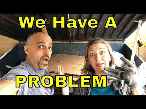 DUMPSTER DIVING- WE HAVE A PROBLEM