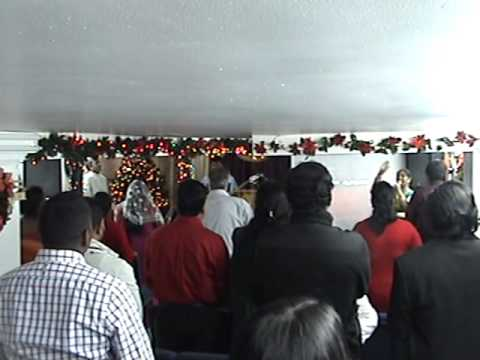 Christmas Service, 2013 - Calvary Tamil Sri Lankan Church in New York Travel Video