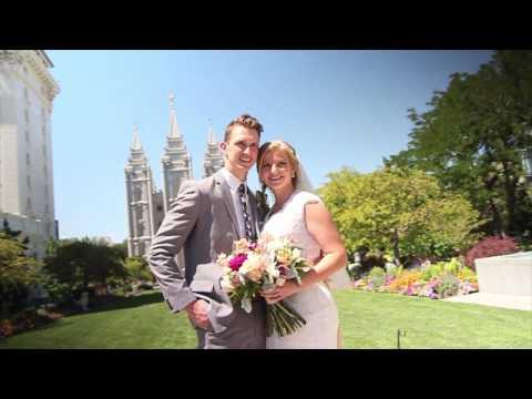 Ally & Tanner Salt Lake Temple Highlights