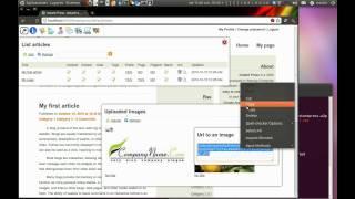 Instant Press CMS - Web2py Framework Tour
