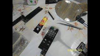 Ремонт кнопок TV пульта телевизора Sony