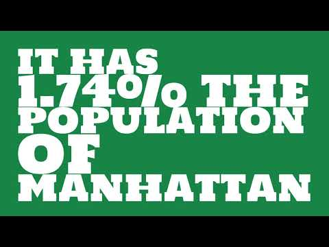 How does the population of Bessemer, AL compare to Manhattan?