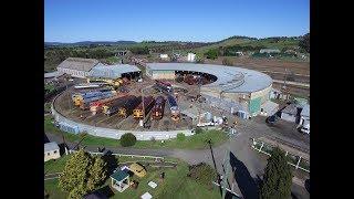 Streamliners Australia 2016 - part 4 - Goulburn Roundhouse activities