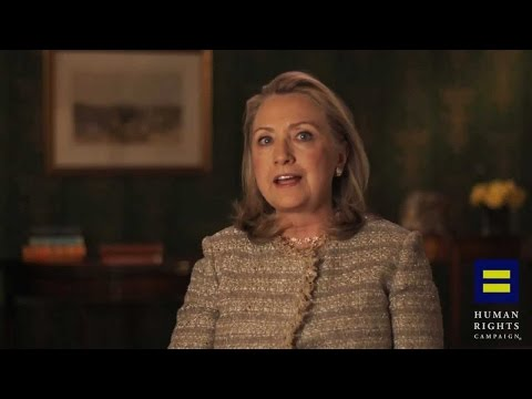 Hillary Clinton's Gay Marriage Speech