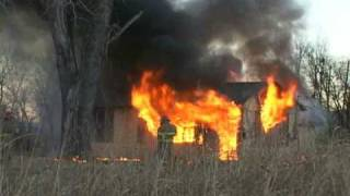 North Sunset House Fire in Ponca City, OK