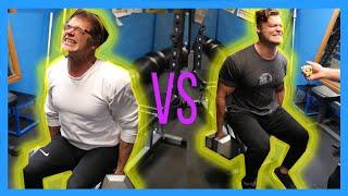 200 lb GRIP STRENGTH TEST! Dad vs Dudes