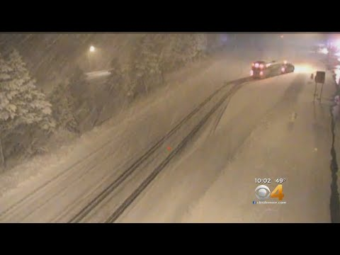 Early Fall Snow Disrupts Traffic On I-70