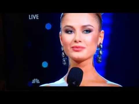 Miss Ukraine at Miss Universe