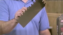 Tile Tips from the Pros: Thin set, mastic and mortar
