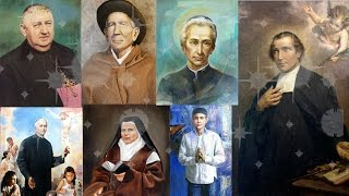 New Saints canonized by Pope Francis
