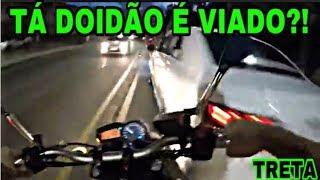 SUSTOS E FECHADAS DE MOTO (EP.10)