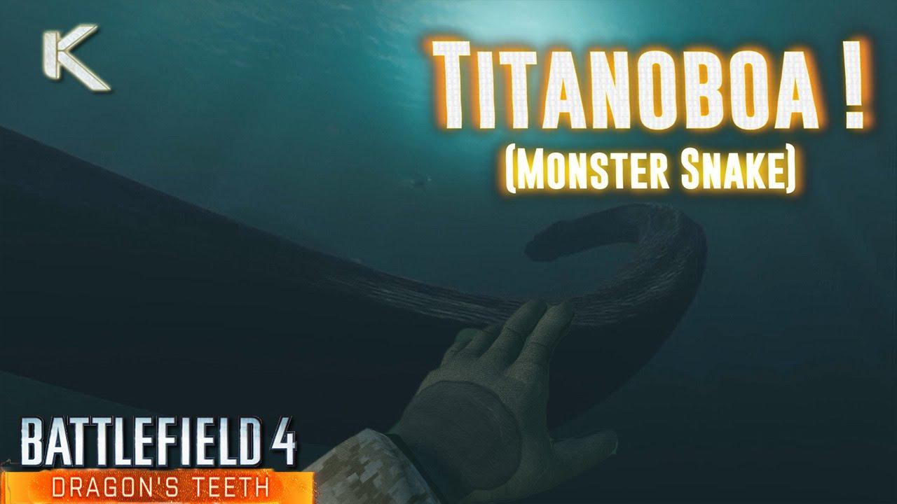 титанобоа фото видео
