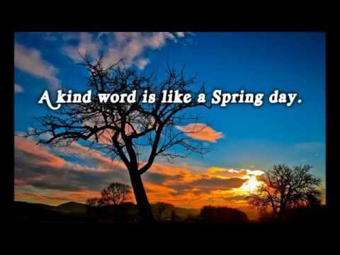 Kindness Quotes Kindness Quotes With Pictures And Music Youtube