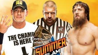 John Cena vs. Daniel Bryan - WWE '13 SummerSlam Simulation thumbnail