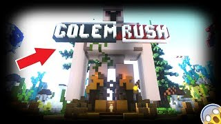 UNE PARTIE DE GOLEM RUSH ! (Minecraft Rinaorc)