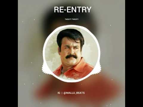 Twenty Twenty Mohanlal BGM | Re-Entry BGM