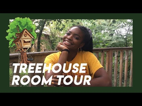 South France TREEHOUSE ROOM TOUR