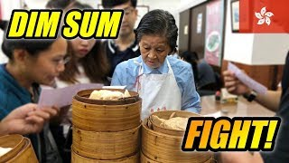 INSANE Dim Sum Experience in Hong Kong | Lin Heung Tea House