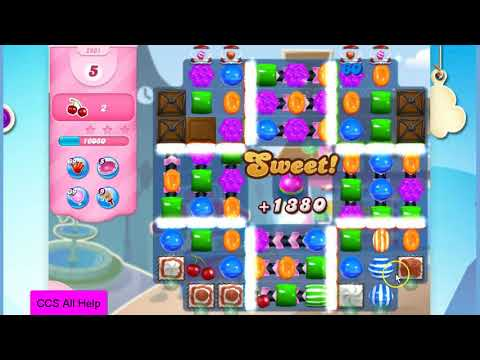 Candy Crush Saga Level 2961 NO BOOSTERS Cookie