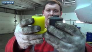 Задняя подвеска Лада Калина: меняем резиновые сайлентблоки на полиуретановые.