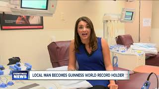 Local man becomes Guinness World Record holder