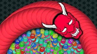 Wormate.io 001 Strong Bad Snake Skin Hacked? vs. 72227 Snakes Epic Wormateio Gameplay!