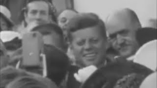 June 27, 1963 - President John F. Kennedy Attends Garden Party at Áras an Uachtaráin, Ireland