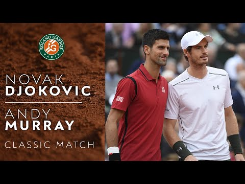 Novak Djokovic vs Andy Murray - 2016 Final | Roland-Garros (Classic Match)