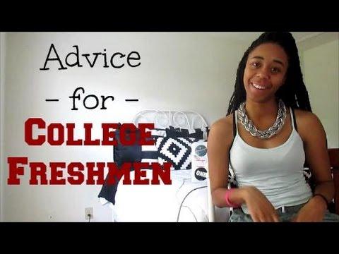 Advice For College Freshmen Tanece Nicole Youtube