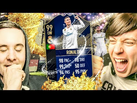 YESSS TOTY RONALDO IS INSANE - FIFA 18 TEAM OF THE YEAR PACK OPENING