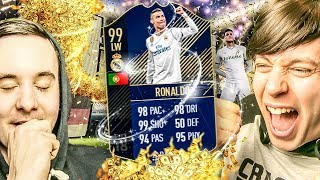 YESSS TOTY RONALDO IS INSANE - FIFA 18 PACK OPENING FUT DRAFT