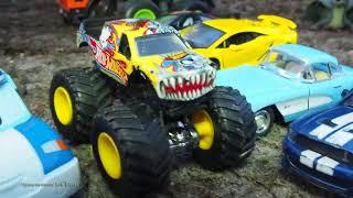 Мультик про машинки для дітей розвиваючий мультфільм іграшки дитяче відео поліцейські машинки ав